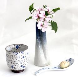 Blue Single Bud Vase