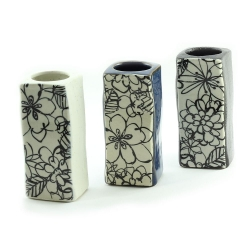 Monokuro Rectangle Vases - Click for more info