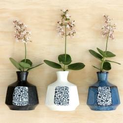 Maple Blossom Octagon Vase