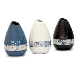 Sakura Zome Teardrop Vase - Click for more info