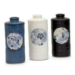 Sakura Zome Cylinder Vase - Click for more info