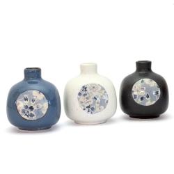Sakura Zome Square Vase - Click for more info